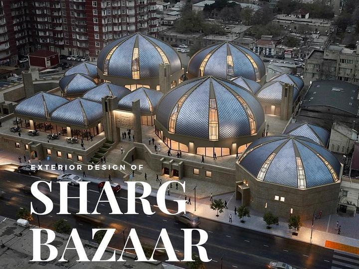 Новый облик «Шярг базары» после реконструкции [Проект]