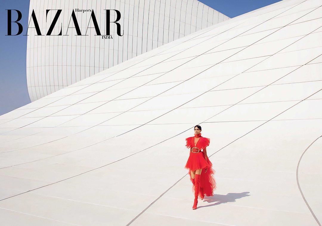 Баку на страницах журнала «Harper's Bazaar» – ФОТО